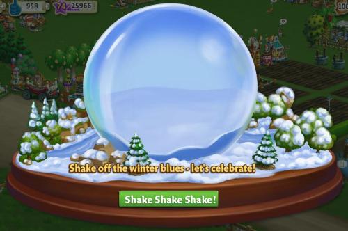 FarmVille2: Winter Wonderland at FarmVille 2!