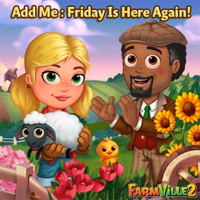 Add me Friday 3