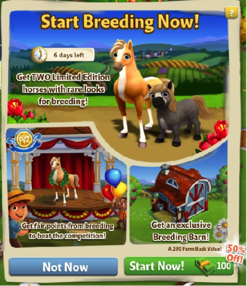 Horse Breeding - FarmVille 2