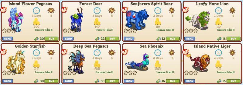 LE Treasure Tide Animals