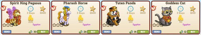 LE Egyptian Animals 1