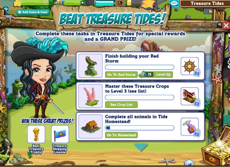 Beat Treasure Tides 1
