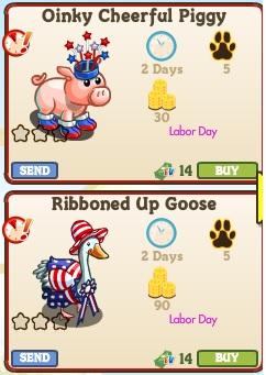 Animals2 Labor Day