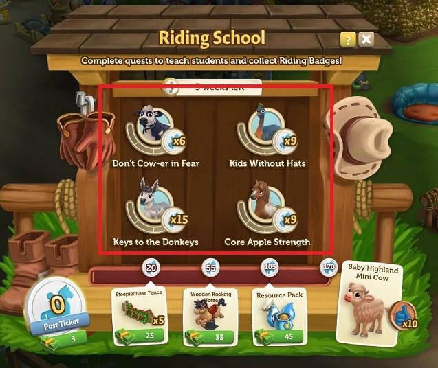 Riding School 6