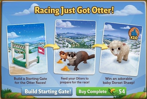 Otter Derby - FarmVille 2