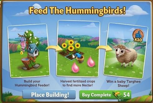 Hummingbird Feeder - FarmVille 2
