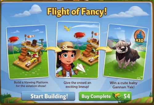 Flight of Fancy - FarmVille 2