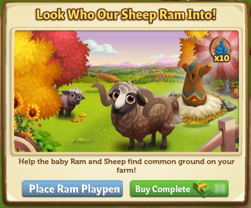 Look Who Our Sheep Ram Into! - FarmVille 2