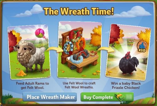 The Wreath Time - FarmVille 2