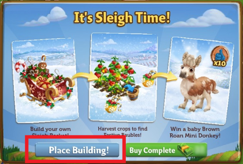 It's Sleigh Time! - FarmVille 2