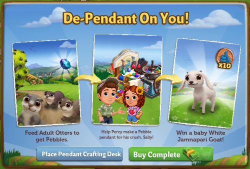 De-Pendant On You! - FarmVille 2