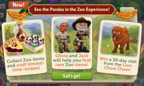 """FV2 CE: """"A Zoo Experience!"""""""