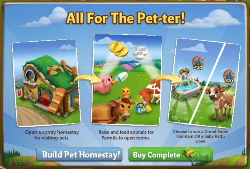 Pet Homestay - FarmVille 2