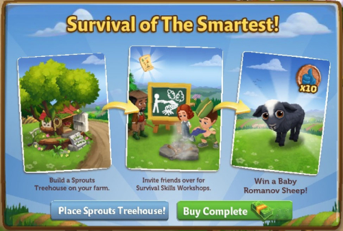 Survival Skills Workshop - FarmVille 2