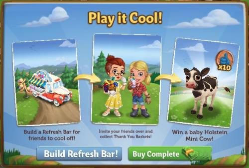 Play it Cool! - FarmVille 2