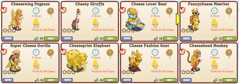 8 Animals