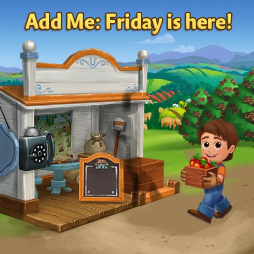 Add Me Friday 2
