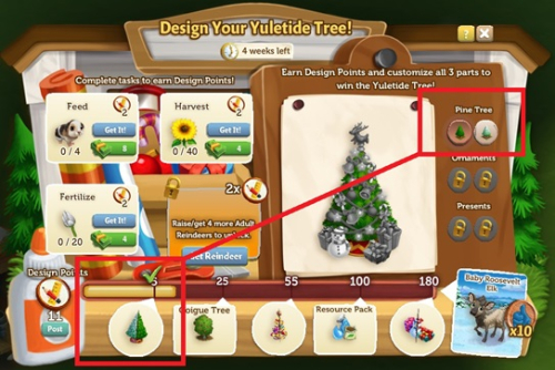 I can't wait to see the Yuletide Tree you create for your farm! Start  designing one now. Happy holidays! - Make Your Own Yuletide Tree! - FarmVille 2