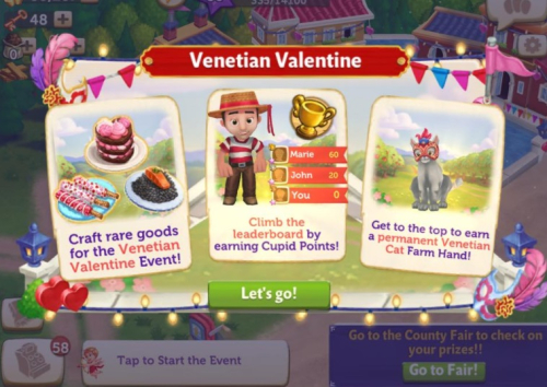 FV2 CE: Venetian Valentine!