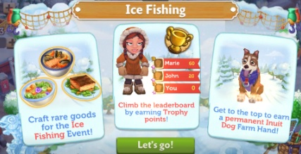 FV CE: The Ice Fishing Contest!