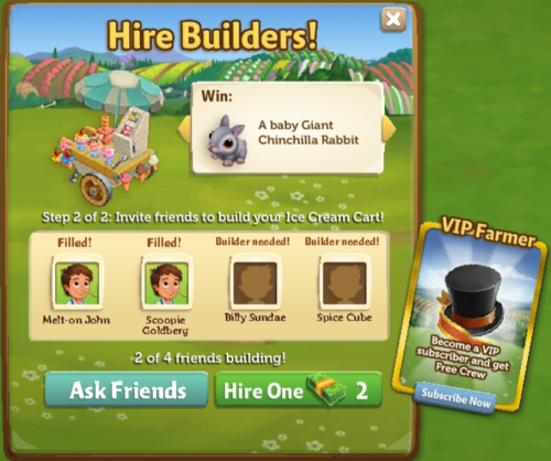 FarmVille 2: Limited Edition Items
