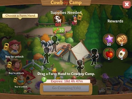 Moovin Cowboy Camp
