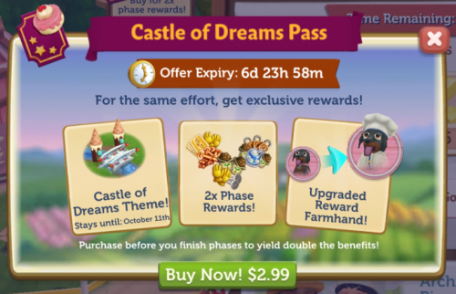7 castle of dreams pass