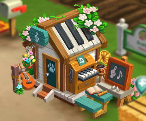 Pet Music Academy building