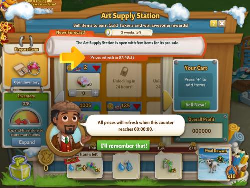 Art Supply Station 9