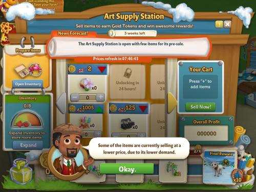 Art Supply Station 10