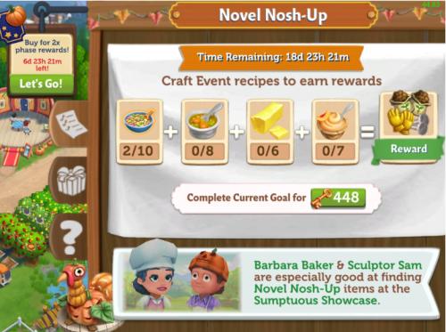 Novel Nosh-up 4