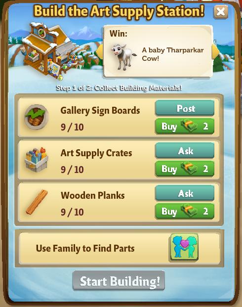 Art Supply Station 2