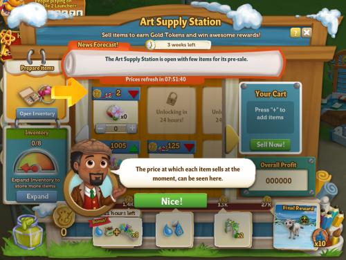 Art Supply Station 7