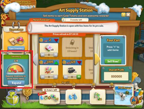 Art Supply Station 18