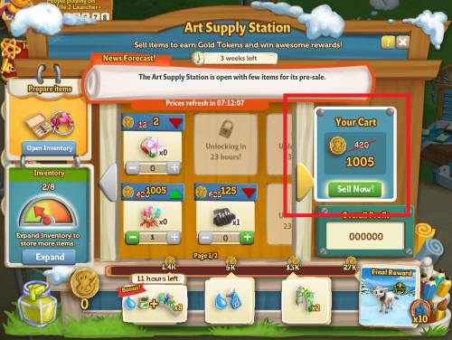Art Supply Station 21